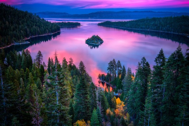 Enjoy beautiful Lake Tahoe while studying in California